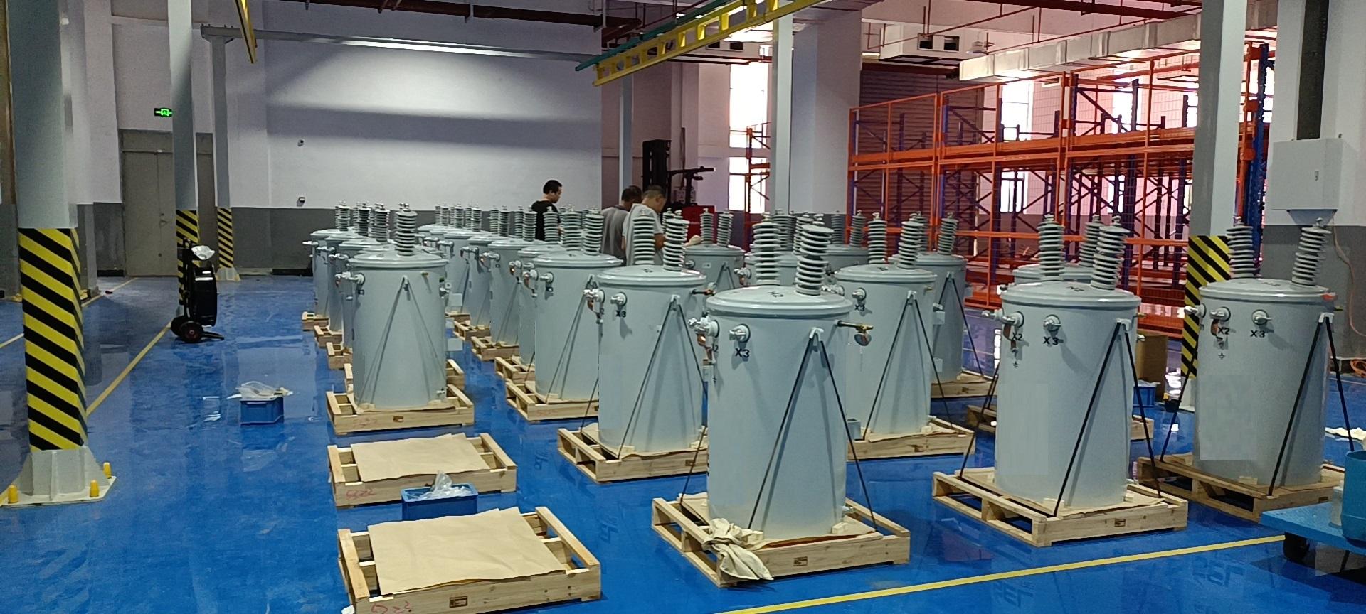 伊戈尔柱上式配电易胜博安卓智能制造项目顺利投产